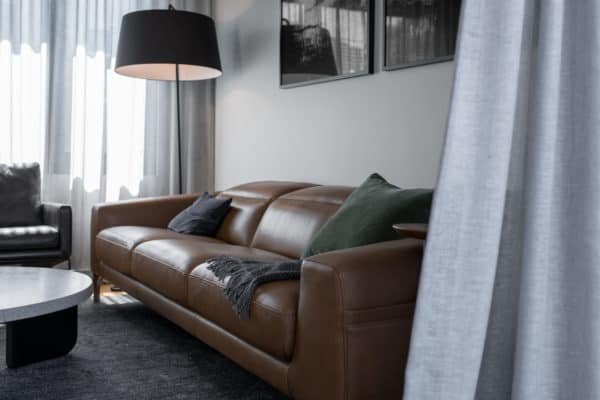 Small Lounge With Scandi Style Furnishing
